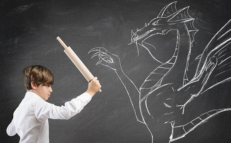 Работа со страхами у детей - Психологос