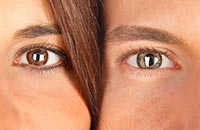 Определяем совместимость по цвету глаз