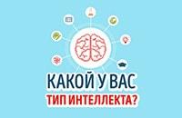 Какой у Вас тип интеллекта?
