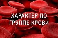Узнайте характер по группе крови