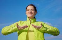 Как быстро успокоиться: техника глубокого дыхания